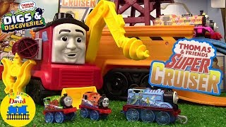 New* SUPER CRUISER Thomas and Friends Trackmaster Digs & Discoveries STEFANO ToyTrainsofDavid