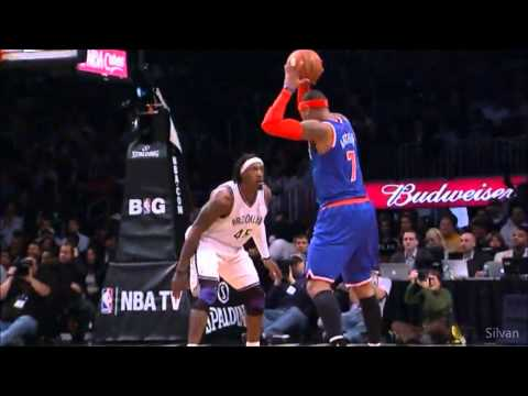 Carmelo Anthony 45 Points @ Brooklyn Nets - 11/12/2012