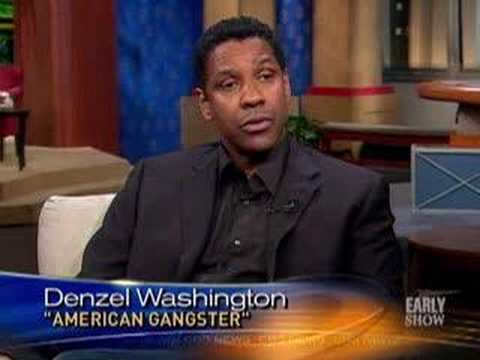 Denzel's 'Gangster' Rep (CBS News)