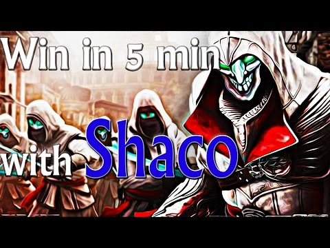 How to win in 5min w/ Shaco - Diamond Ranked