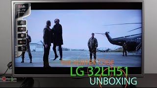 LG 32 LH51 Series LED TV Unboxing and First Boot | 32LH516A | First Impression | LG