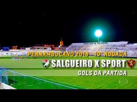 HD⁶⁰ | Gols: Salgueiro 1 X 1 Sport - Pernambucano 2018 - 10ª Rodada