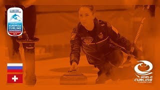 Russia v Switzerland - Women's Round-robin - Le Gruyère AOP European Curling Championships 2017