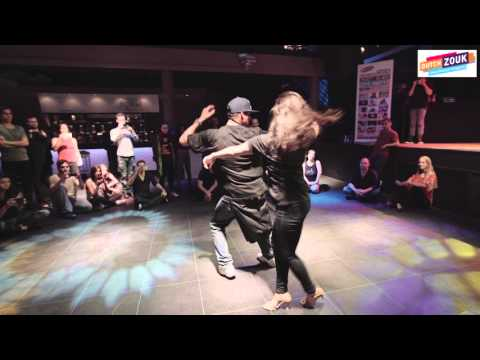 Dadinho + Nathalia - Dutch International Zouk Congress 2015 - Demo 1