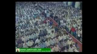 Zakir Naik Q&A-31  |   Zakir Naik about theory of man evolution