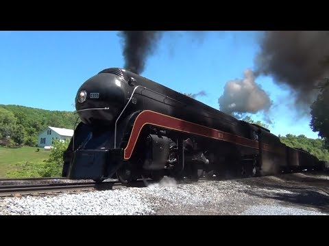N&W #611:  Ferry Move to Roanoke and a Switching Engine