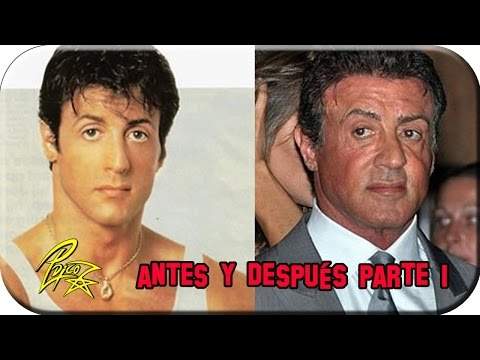 101 Actores de Hollywood Antes y Después (2012) PARTE 1