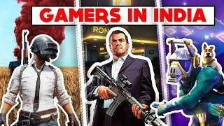 GAMERS  IN INDIA FROM 1997 - 2018  IN HINDI  || PUBG || GTA 5 || Fortnite ||
