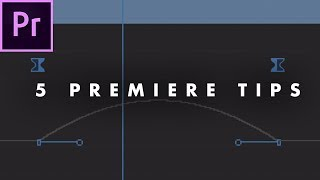 5 Things EVERY EDITOR Should Know in Adobe Premiere Pro (CC 2017)   Tips Tutorial