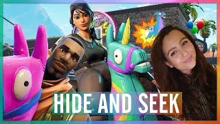 HIER HEBBEN WIJ NOG NOOIT VERSTOPT! - HIDE AND SEEK (FORTNITE: MINI-GAME #34)