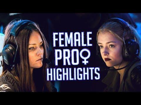 CS:GO - WHEN PRO FEMALES DESTROY GUYS! (FEMALE PRO HIGHLIGHTS)