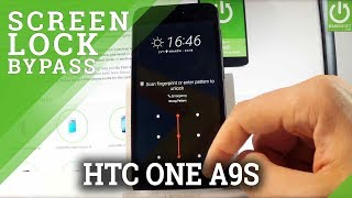 HTC One A9s HARD RESET / Bypass Screen Lock / Restore Android
