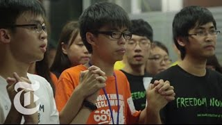 Hong Kong Protest 2014: The Voice of a Student Leader | The New York Times