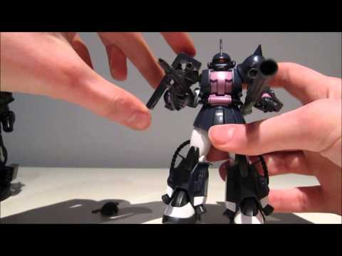 1-144 HGUC Zaku II High Mobility Type Black Tristar ver. Review