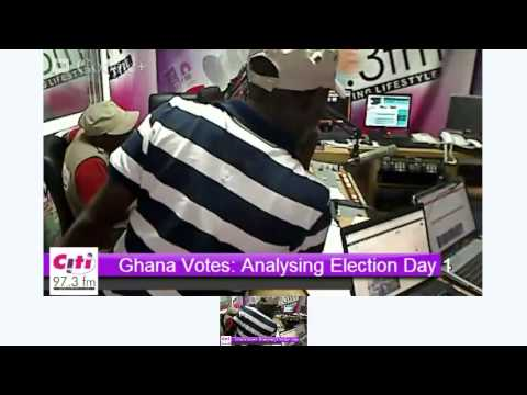 Ghana Votes: Citi FM Election Coverage