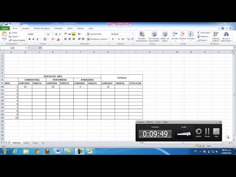 Creando Formatos en Excel