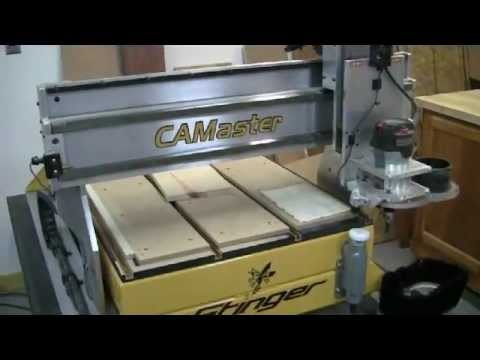 CAMaster CNC Router and Wincnc Video Tutorial Part 1