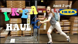 IKEA HAUL // EVERYTHING YOU NEED FOR UNIVERSITY