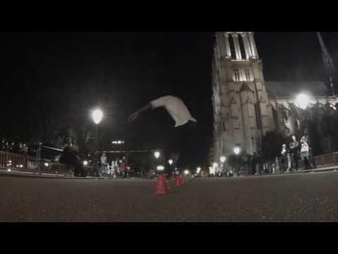 amazing roller amateurs Notre Dame de Paris