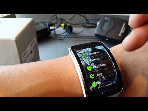 Galaxy Gear S Unboxing! - Part 2