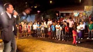 Felipe Teixeira Pregando no Guia-Me Senhor - Distrito da Guia - Cuiabá/MT