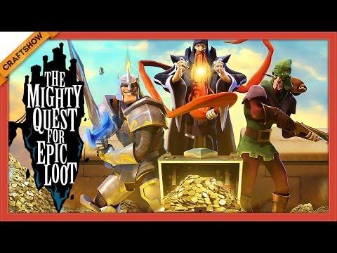 Прокачка в The Mighty Quest for Epic Loot (запись со стрима, открытый бета-тест)