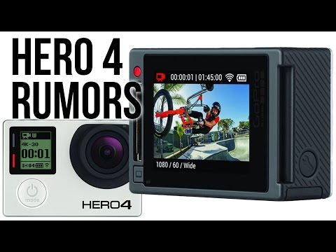 GoPro HERO4 Rumors