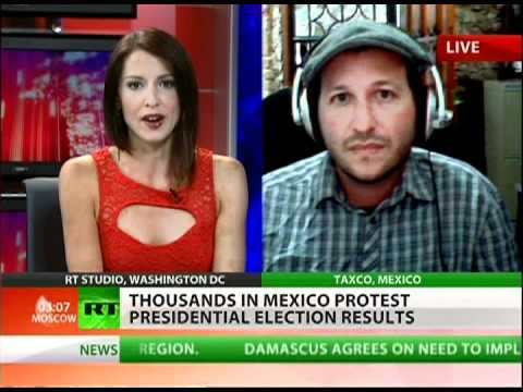 Mainstream ignores Mexican protests