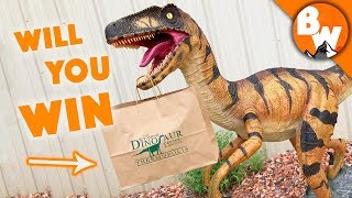 Win the Ultimate Dinosaur Treasure Bag!