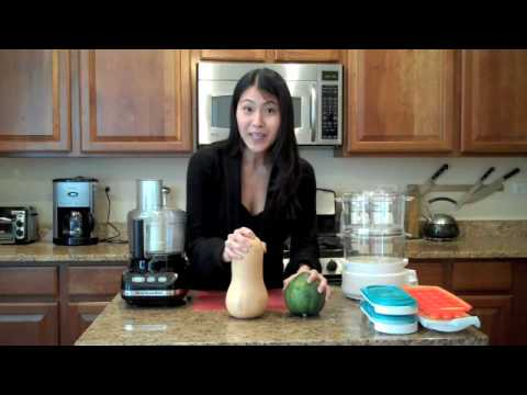 Making Your Own Baby Food | Homemade Baby Food | Squash