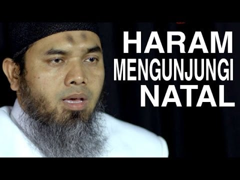 Serial Aqidah Islam (26): Diharamkannya Mengunjungi Natal Bagi Umat Islam - Ustadz Afifi Abdul