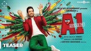 A1 Official Teaser | Santhanam, Thara | Johnson K | Santhosh Narayanan | S. Raj Narayanan