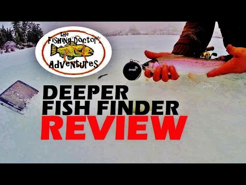 Deeper fish finder review ice fishing sonar makeup guides for Deeper fish finder review