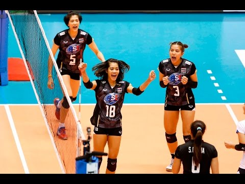 [20-05-2016] Thailand VS Kazakhstan : Volleyball Olympic : Women's qualification