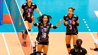 [20-05-2016] Thailand VS Kazakhstan : Volleyball Olympic : Women