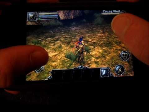 Aralon: Sword and Shadow HD - iPod touch App Review