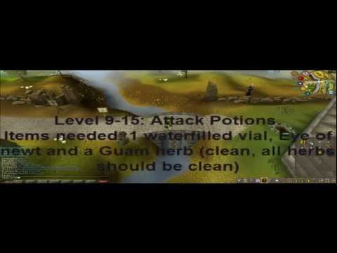 Runescape 99 Herblore Guide w/commentary (Sohan Of 114)