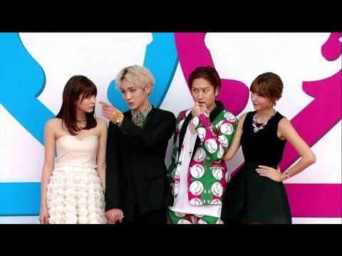 GWGM2 Press Conference Full 60m (Heechul & Puff, Key & Arisa, Amber & Soryong) 140320