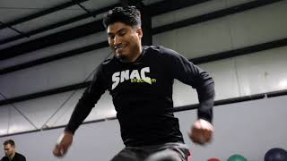 EXCLUSIVE:  Mikey Garcia RAW intense workout ahead of Errol Spence fight