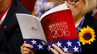The 2016 Republican Platform Is Truly Terrifying
