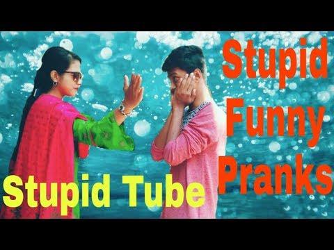 #Stupid funny prank video(Stupid Tube).