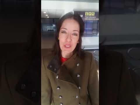 Andrea Camponovo, protagonista de Eugenia, película boliviana