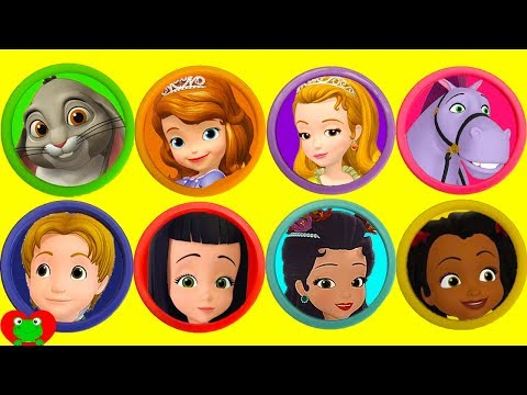 Disney Princess Sofia the First Play Doh Surprises