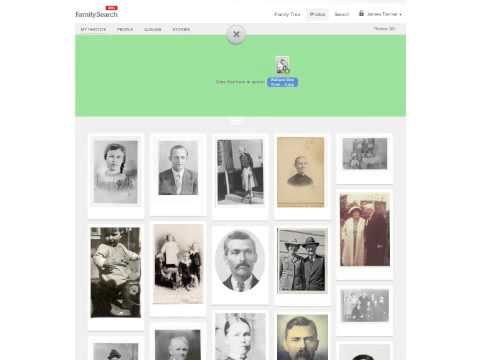 Genealogy's Star Quick Views on FamiySearch Family Tree Photos