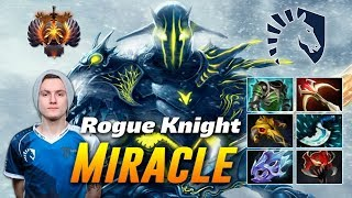 Miracle Rogue Knight Sven | Dota 2 Pro Gameplay