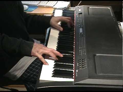 Blues Piano Improv. on Yamaha P-250 by Robert Sands