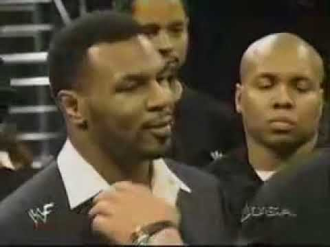 WWF: Mike Tyson vs Steve Austin