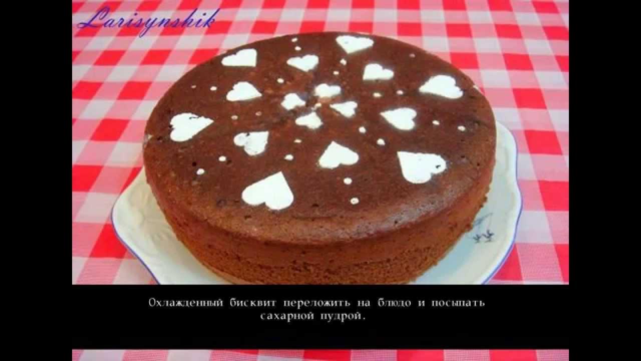 Бисквит с творогом с фото пошагово