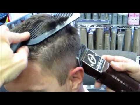 Jason's fade on Michael's hair w/ Clippers cut Part 1 video SECRETS TO FADES / Mens clipper haircut