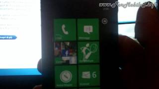 Demo Nokia Lumia 800 con Windows Phone 7.5 (migliorie di Tango)